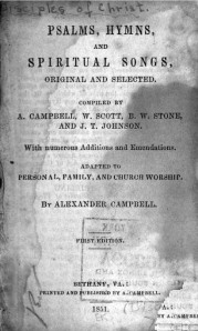 1851 Campbell Title Page